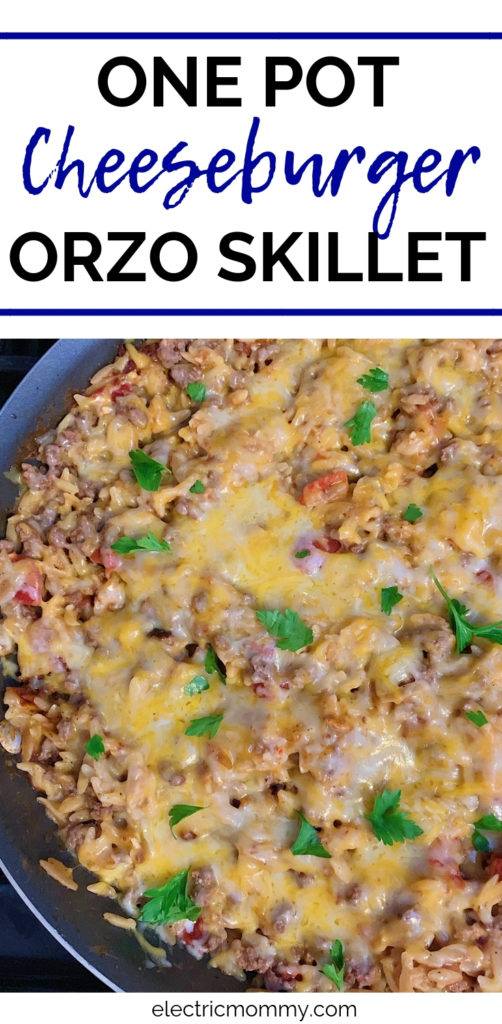 I love orzo! It's my new favorite pasta because of it's versatility. Here, I use it in a super simple, one pot meal that is perfect for a busy weeknight!   One Pot Meals   One Pot Pasta   One Pot Recipes   Easy Weeknight Meals   Easy Weeknight Meals for Families   One Pot Recipes Pasta   Orzo Recipes #onepotrecipes #onepotmeals #onepanrecipes #easyweeknightrecipes #easydinnerrecipes #pickyeatermeals #orzosalad #orzorecipes