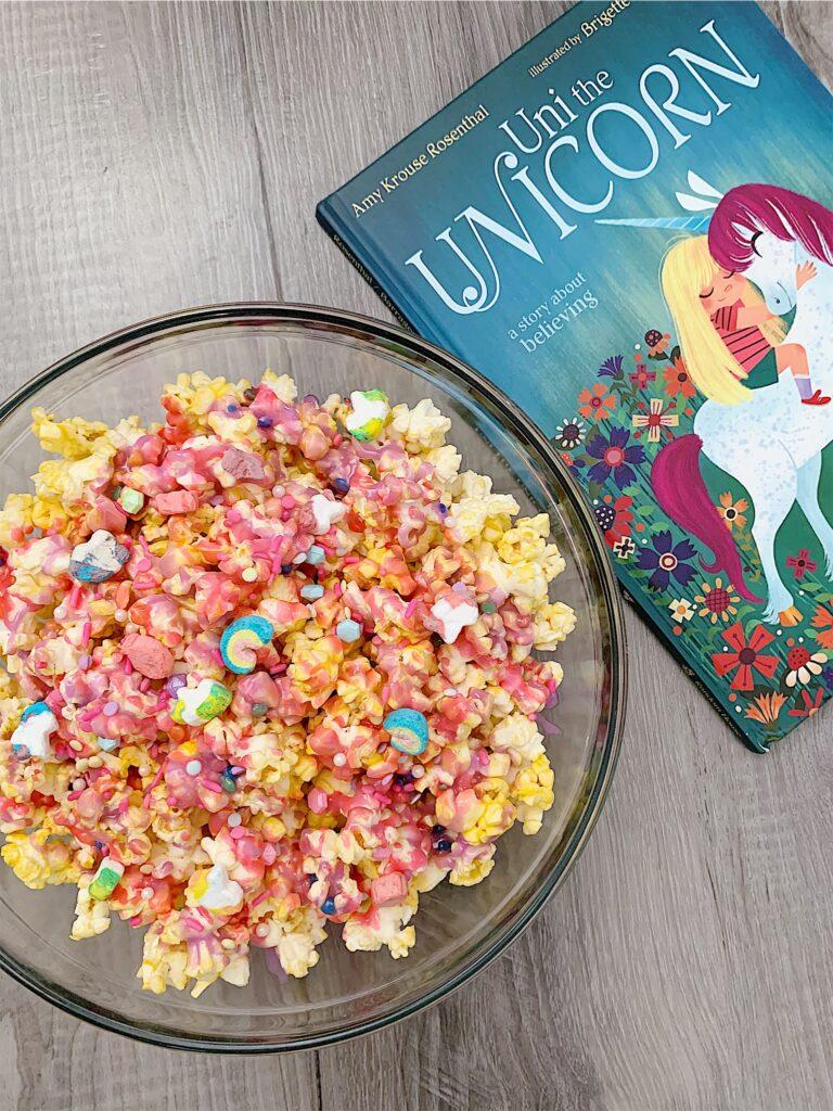 Unicorn Popcorn | Unicorn Food | Unicorns | Unicorn Rainbow | Fun Snacks for Kids | Kid Snacks | Colorful Food | Rainbow Popcorn | Snacks for Kids
