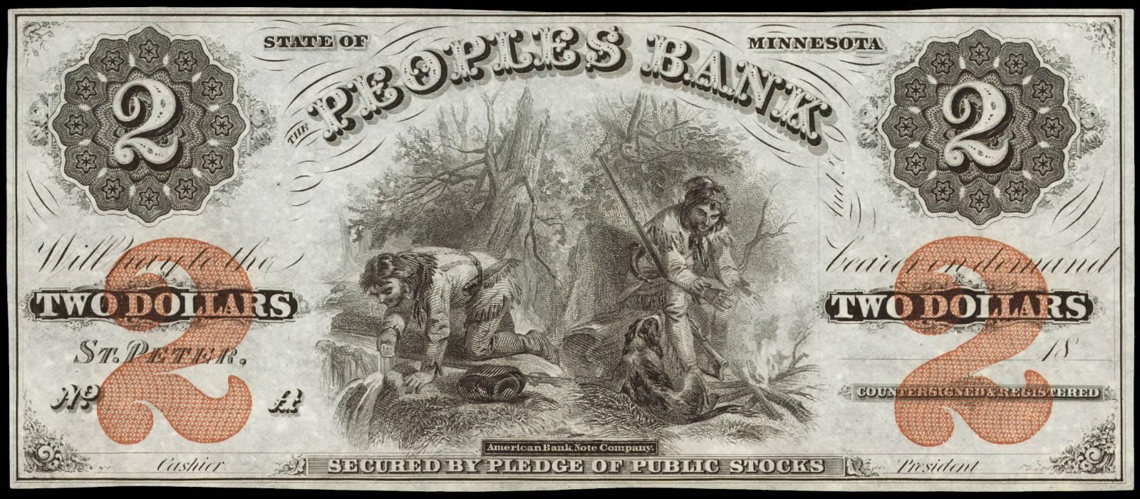 $2 Peoples Bank