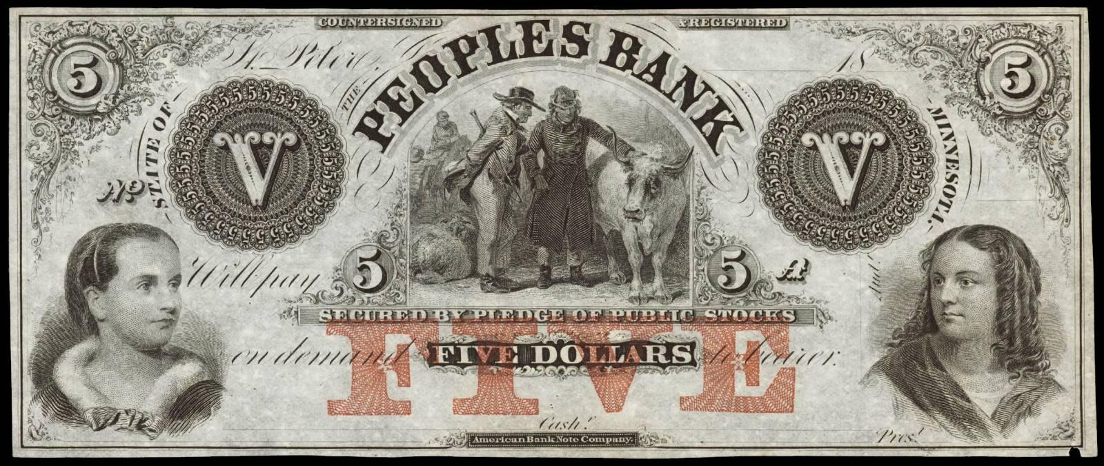 $5 Peoples Bank
