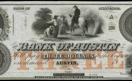 $3 Bank of Austin