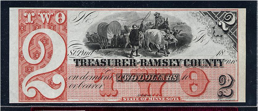 $2 Treasurer of Ramsey County