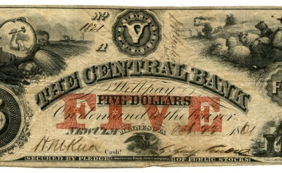 $5 Central Bank