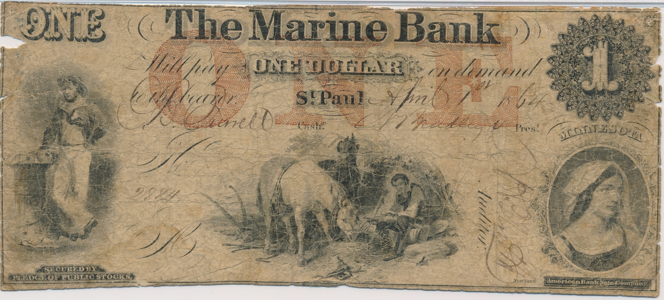 $1 Marine Bank