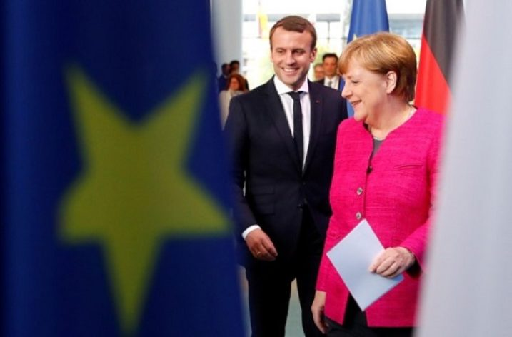 Macron and Merkel converge on Europe