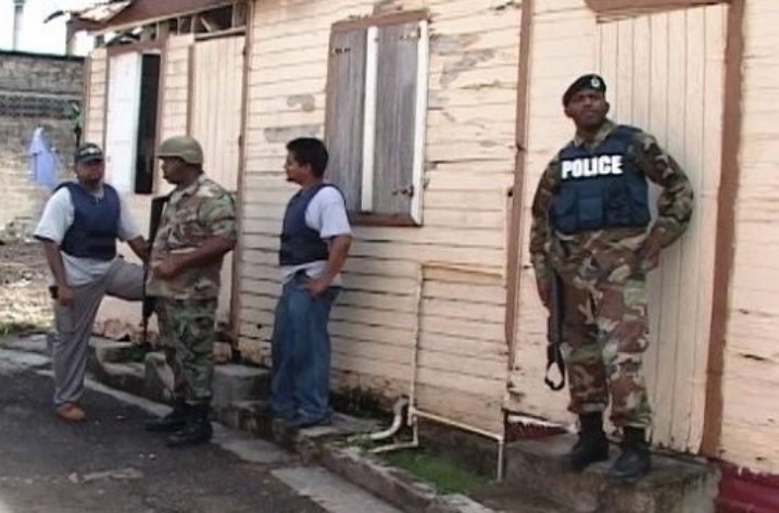 St Lucia's Internal Security