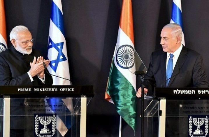 Indo-Israeli relations see upswing