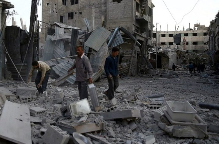 Syrian government uses banned Soviet-era cluster munitions on civilians
