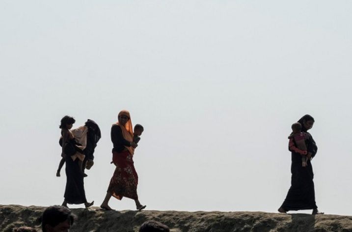 Military land grab as security forces build bases on flattened Rohingya villages