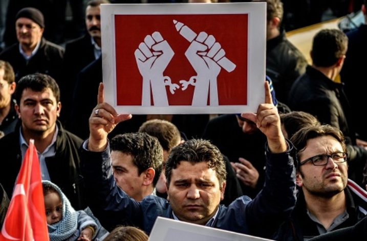 Turkish government suffocating civil society through deliberate climate of fear