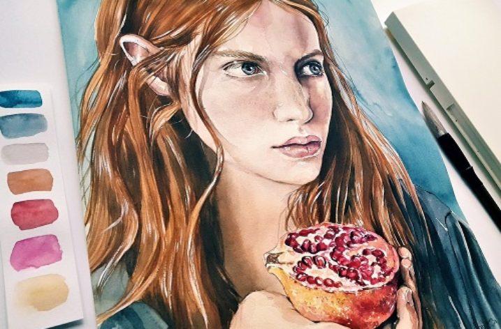 Fiction: Like The Colour Of Pomegranate