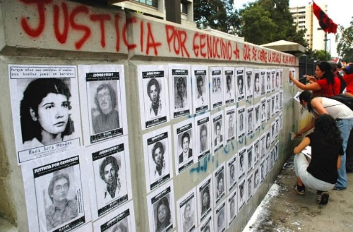 Milestone judgement in Guatemala as military officers sentenced for crimes against humanity