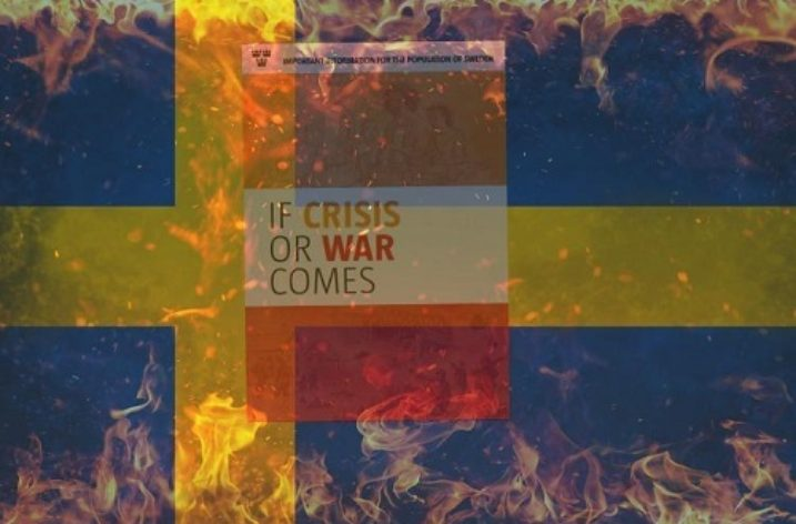 Sweden issues pamphlet on how to prepare for war
