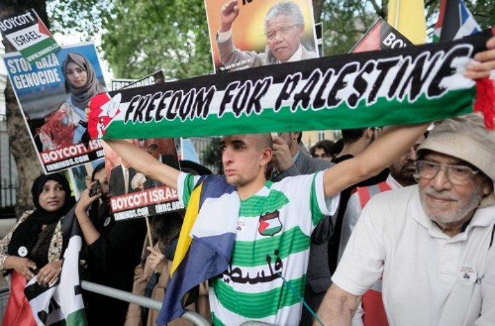 Embassy marks solidarity with Palestine Quds Day