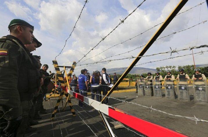 The Colombia/Venezuela border