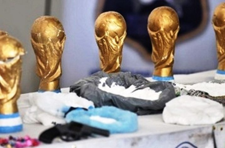 Hide & Seek: World Cup used as camouflage to drug trafficking
