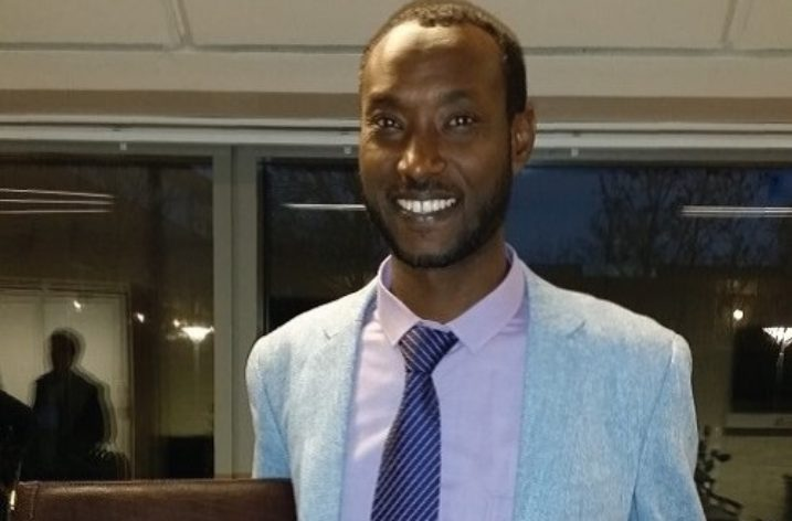 Winner of national prize for best B.A thesis, noted Ethiopian Economist Dr. Abdi Yuya Ahmad