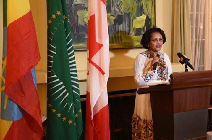 A woman with a double success story: Ambassador Birtukan Ayano