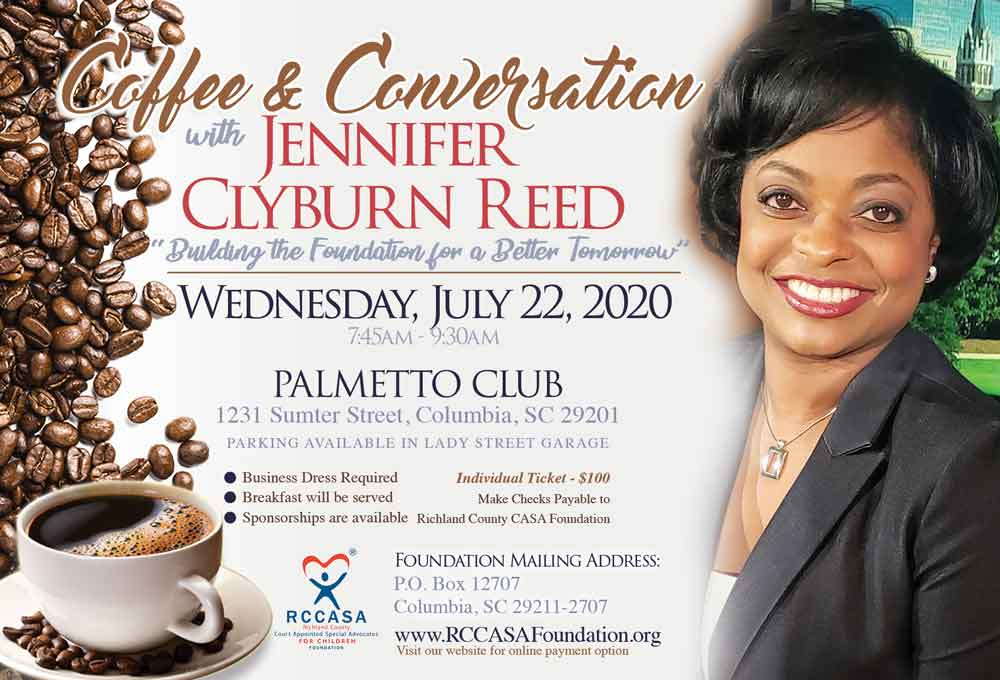 Coffee & Conversations with Jennifer Clyburn Reed