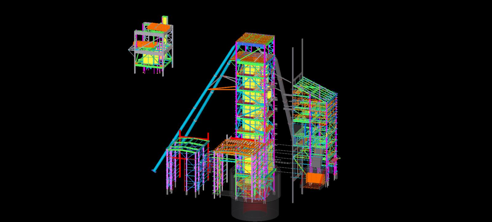 Structural steel, Steel detailing