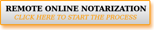 Remote Online Notary Florida