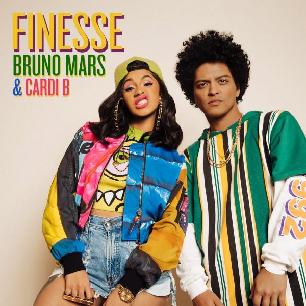 BRUNO MARS & CARDI B 'Finesse'