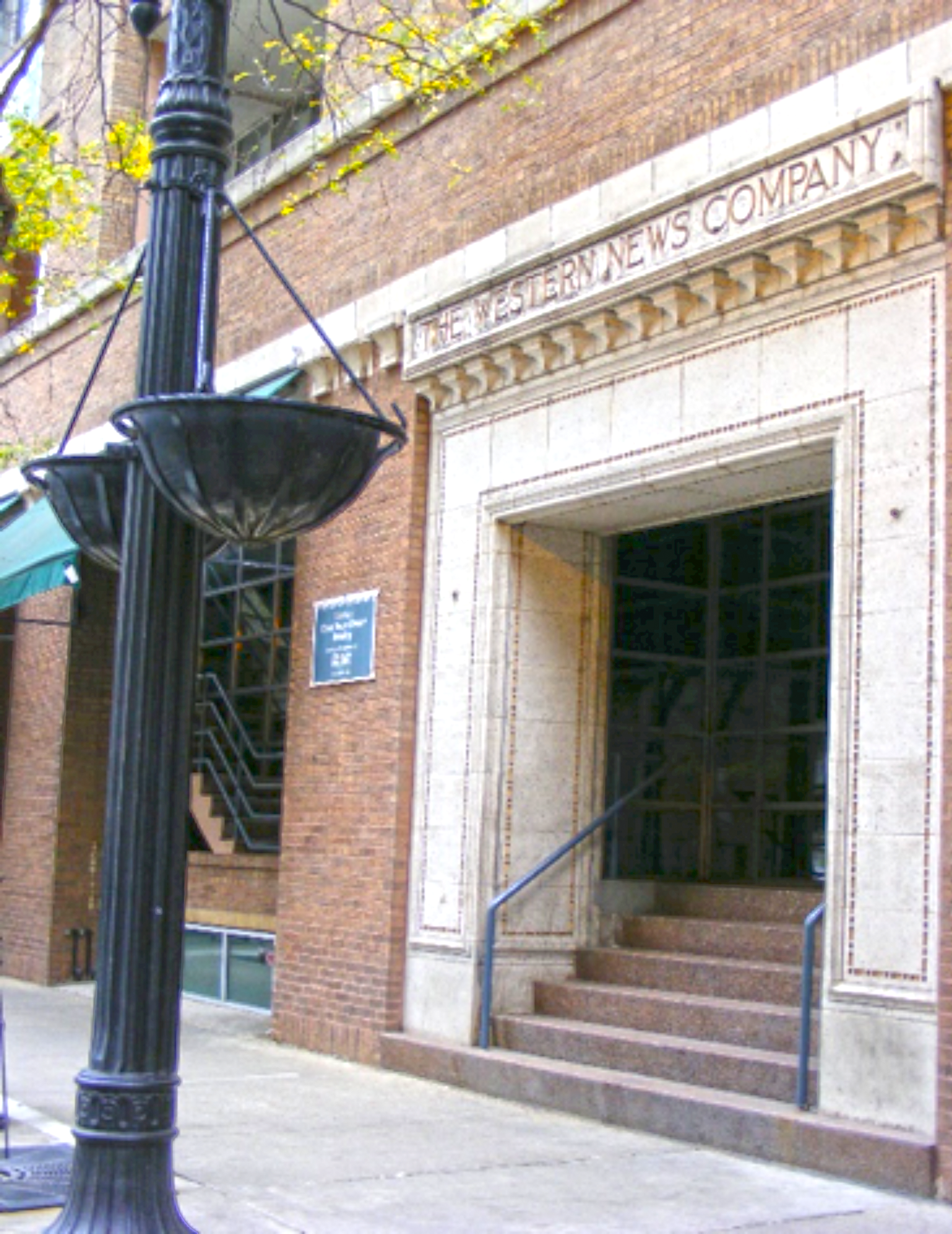 East terra cotta entrance