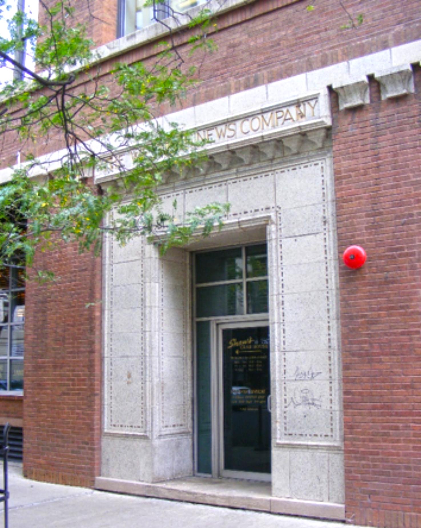 West terra cotta entrance
