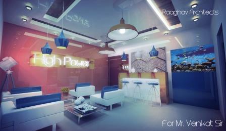 Interior Design for a Lounge