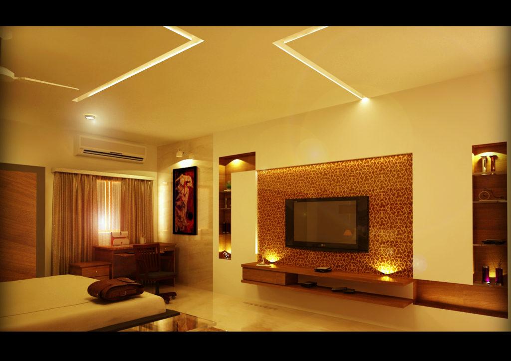 modern bedroom interior design in coimbatore