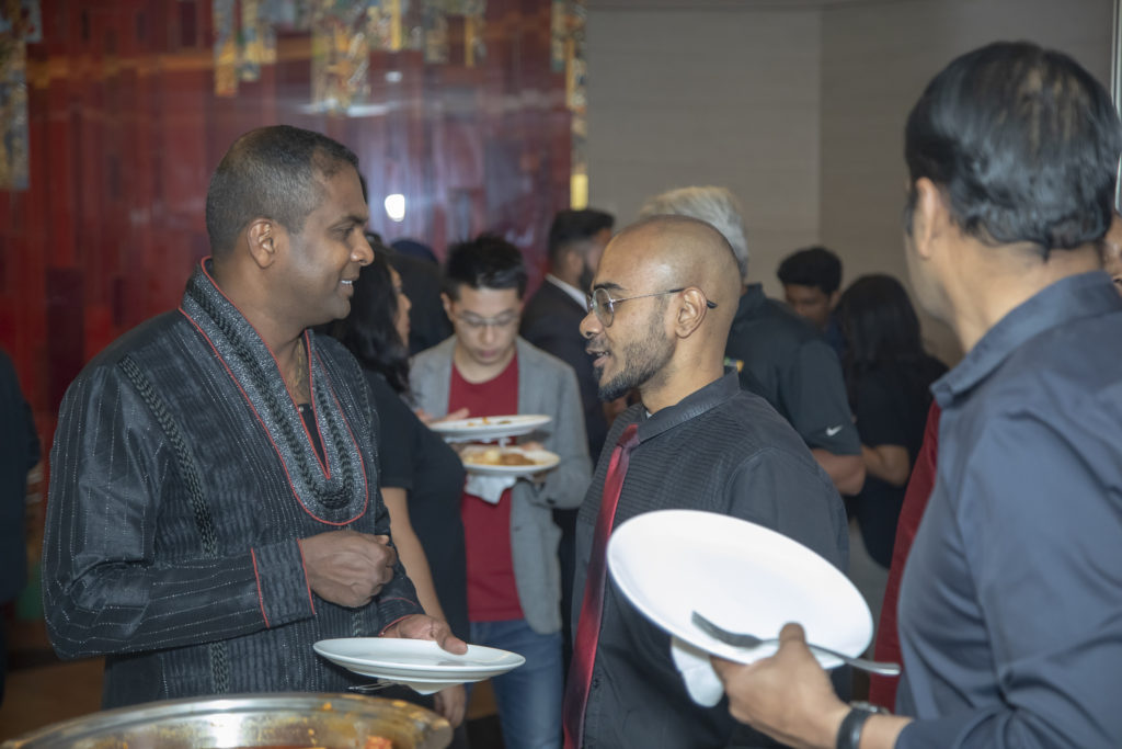 architect raaghav from top architects in india with sashi chelliah from master chef australia