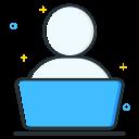 iconfinder laptop job seeker employee unemployee work 1 2620515 Predera AIQ