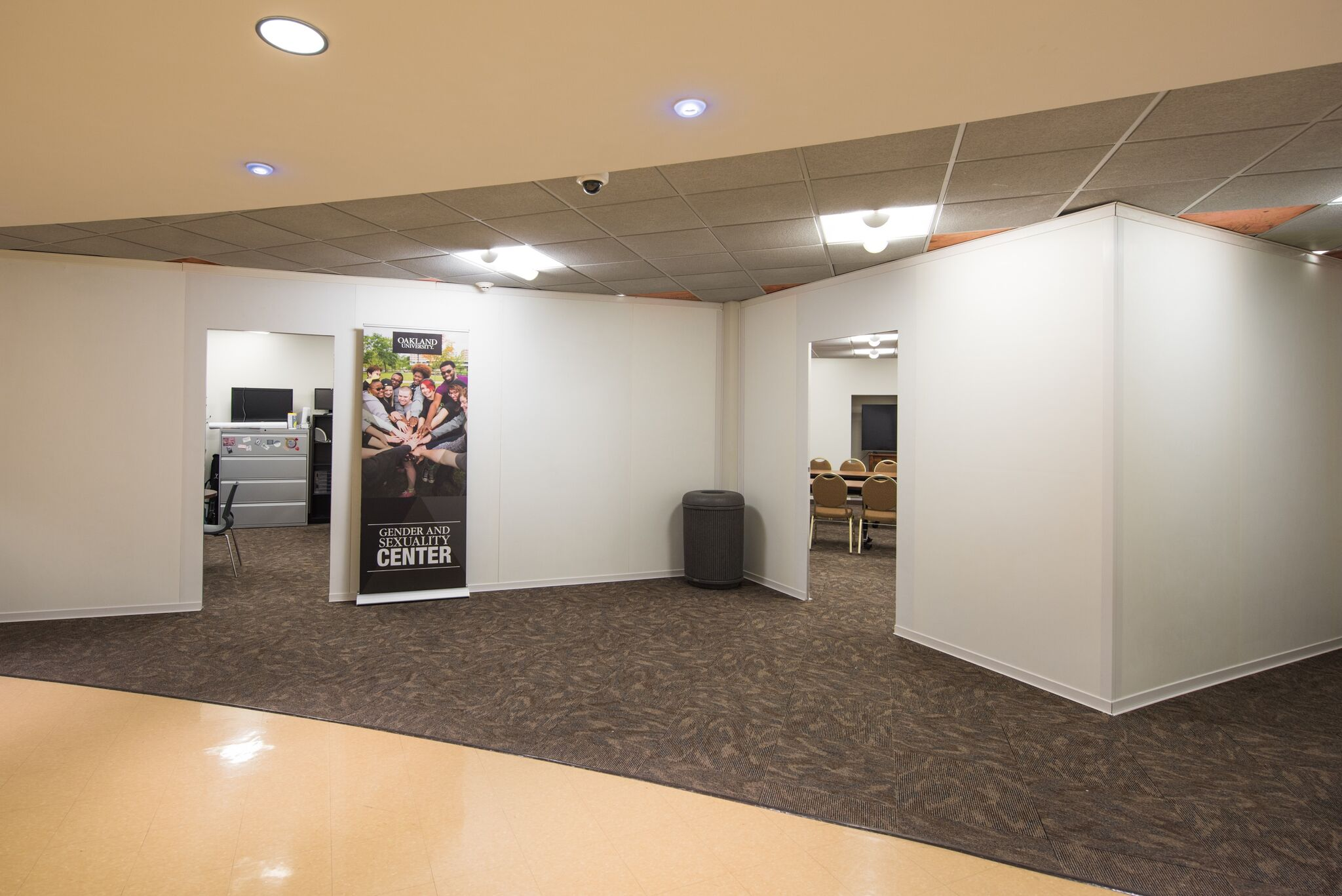 SwiftWall Temporary Rooms at Oakland Univserity