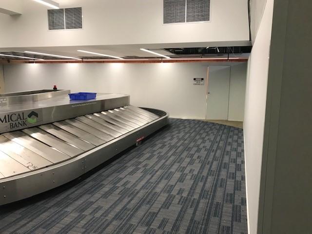 Airport Temporary Walls