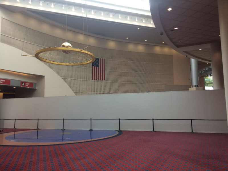 Conference Temporary Walls