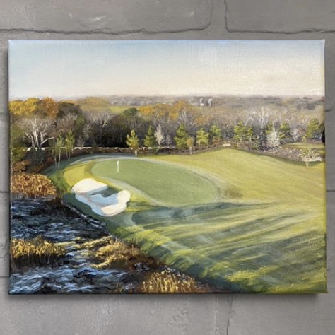 No. 4 at Troubadour Golf and Field, Aimee Smith Studios