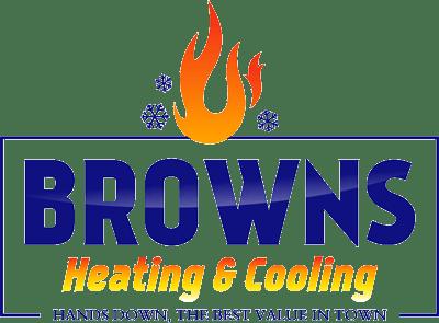 Browns Heating & Cooling logo