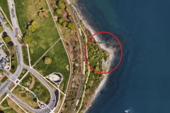 The location at Fish Point