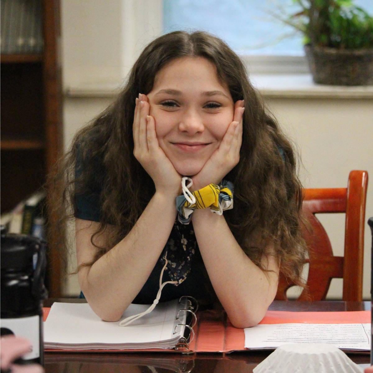 MVCS Smiling Student