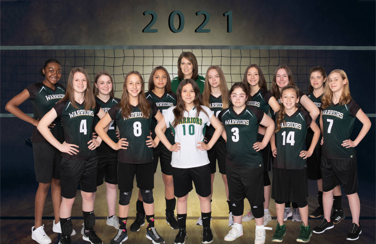 MVCS Girls Varsity Volleyball 2021