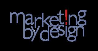 Marketing by Design logo