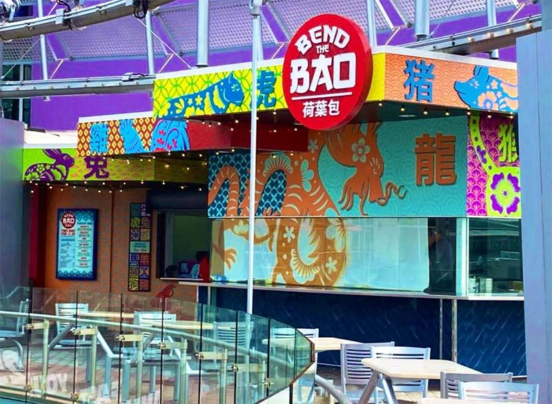 Bend The Bao: Mais uma opção gastronômica no Universal CityWalk