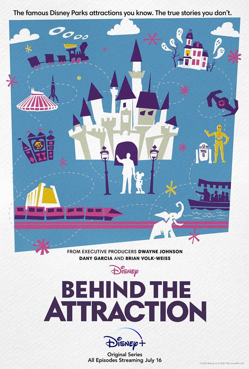 Disney+ terá série sobre os bastidores das atrações dos parques