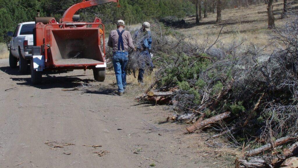 Fire Safe Council Chipping Slash Piles