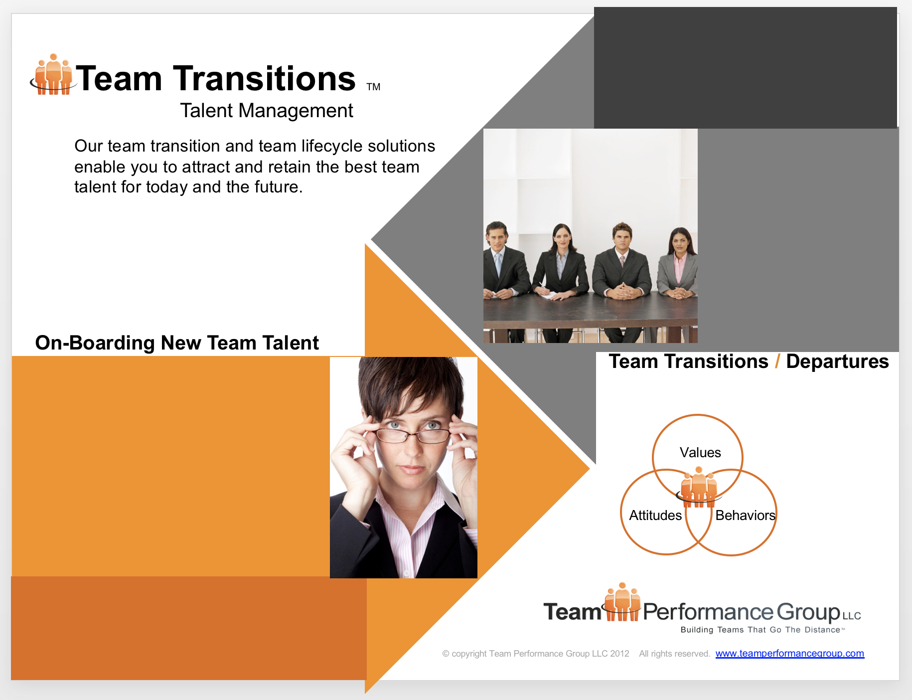 Team Transitions Graphic