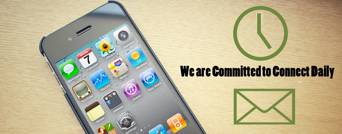 We are Committed to Connect Daily