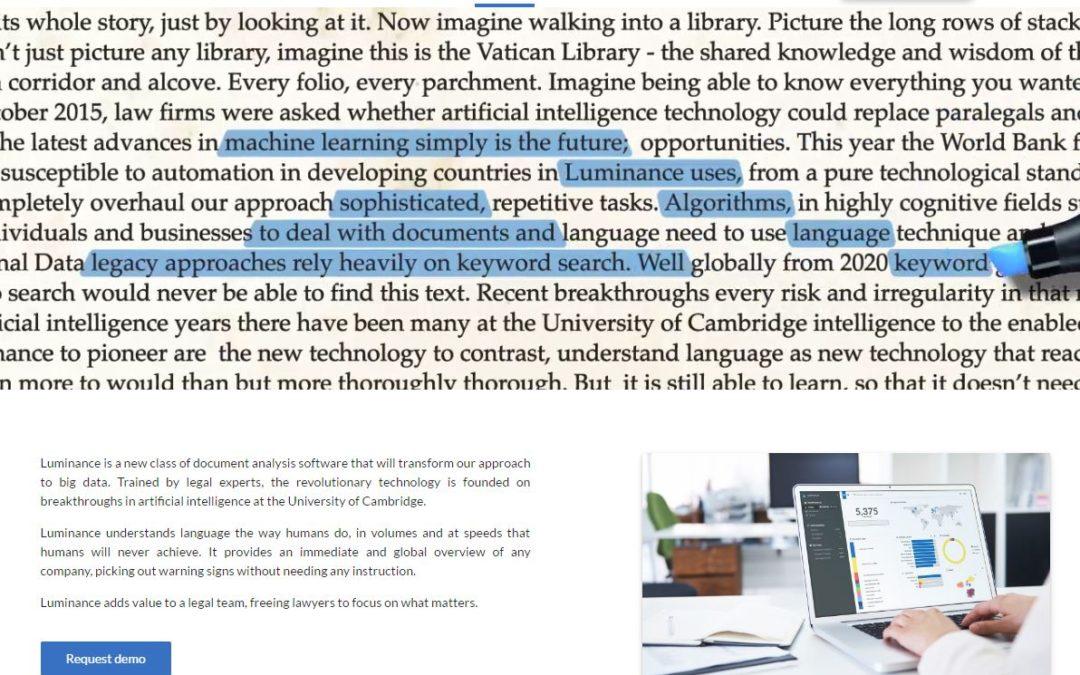 Intelligent Document Analysis