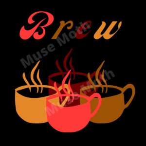 brew warm colors graphics