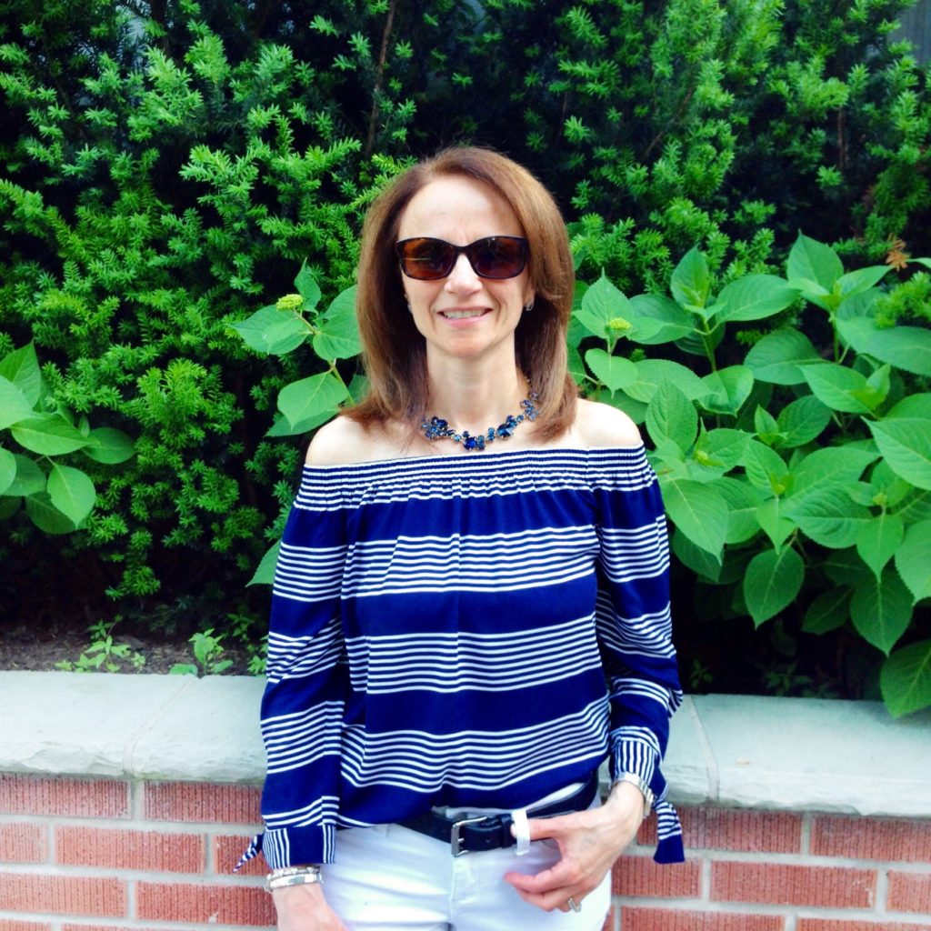 Rayon Off The Shoulder Top From Reitmans