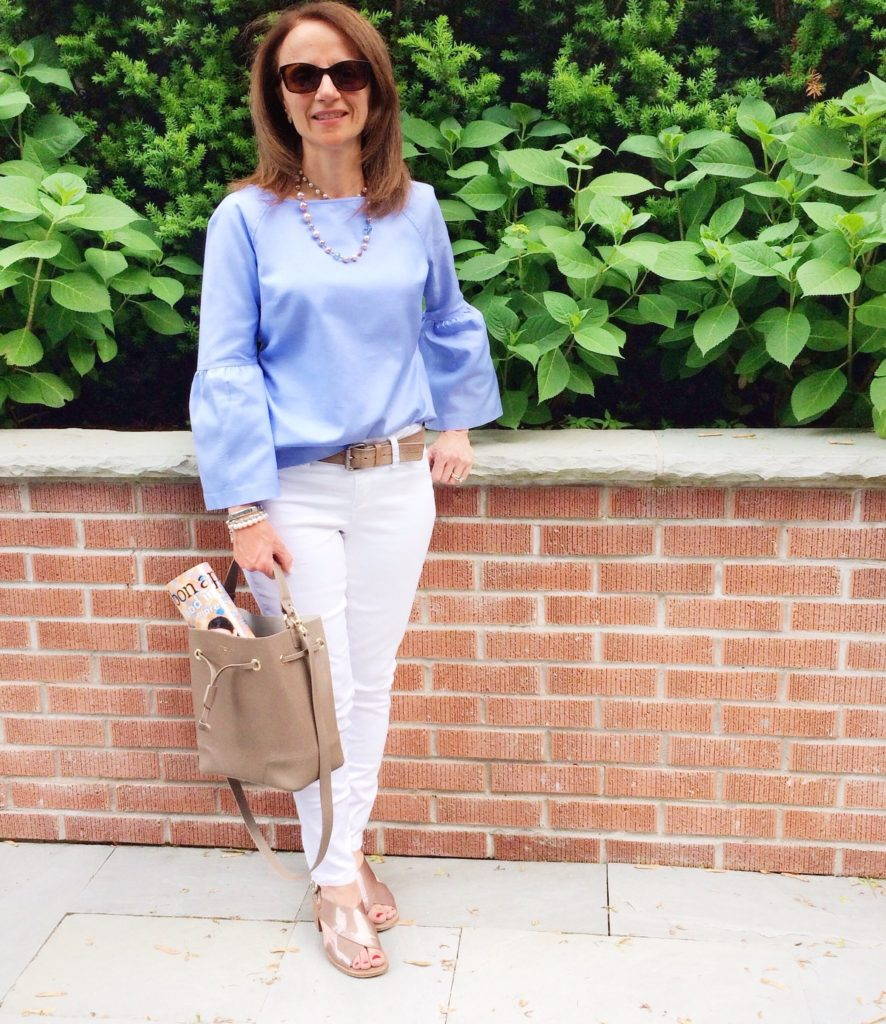 Bell Sleeve Top from Banana Republic